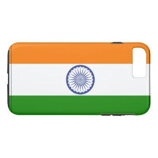 Indien-Flagge iPhone 8 Plus/7 Plus Hülle