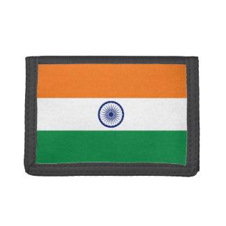 Indien-Flaggen-Geldbörse