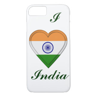 Indien-Inder-Flagge iPhone 8/7 Hülle