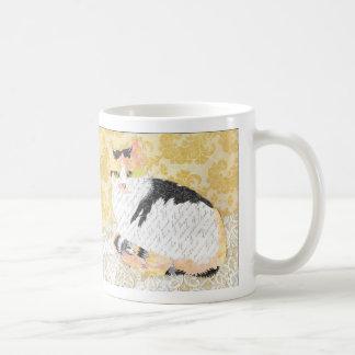 Indien-Katzen-Collagen-Tasse Kaffeetasse