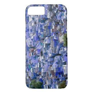 INDIEN, Rajasthan, Jodhpur: Blaue Stadt von iPhone 8/7 Hülle