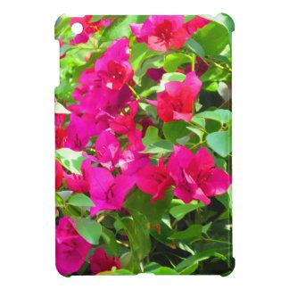 Indien-Reise-Blumen-Bouganvilla-Blumenemblem iPad Mini Hülle