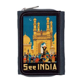 Indien-Reise-Plakatgeldbörsen