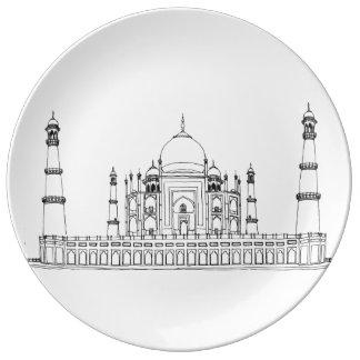Indien - Taj Mahal Teller
