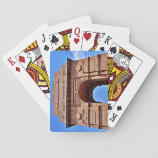 Indien-Tor Spielkarten