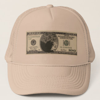Indigo-Dollar Truckerkappe