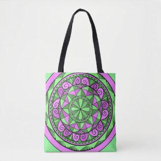 Indigo-Mandala Tasche