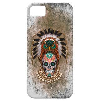 indischer Eulenzuckerschädel-Telefon-gebürtiger iPhone 5 Cover