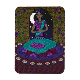 Indischer klassischer Tänzer Magnet