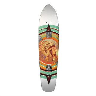 Indisches Haupttest-Muster-Skateboard 18,7 Cm Mini Skateboard Deck