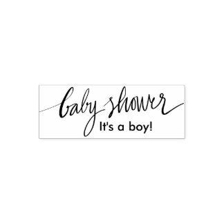 Individu fait sur commande de baby shower de tampon auto-encreur