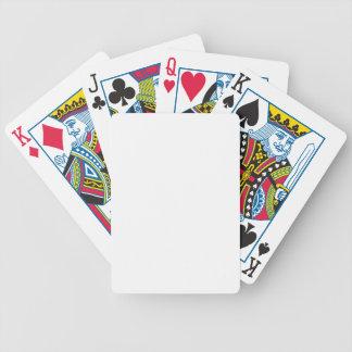 Individuelle Pokerkarte Bicycle Spielkarten
