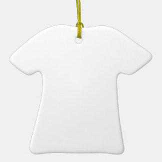 Individueller Anhänger in T-Shirt-Form Keramik Ornament