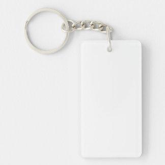 Individueller rechteckiger Schlüsselanhänger