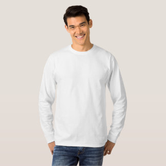 Individuelles großes Long Sleeve T-Shirt