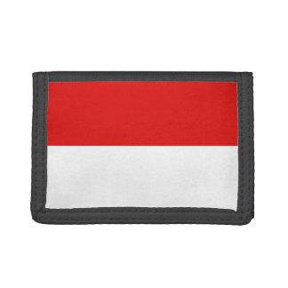 Indonesien-Flaggen-Geldbörse