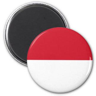 Indonesien Runder Magnet 5,1 Cm