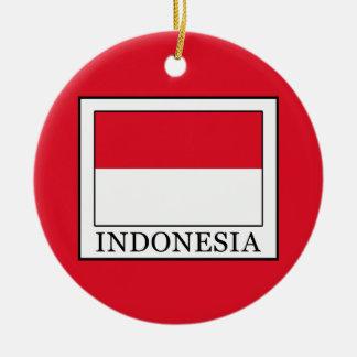 Indonesien Rundes Keramik Ornament