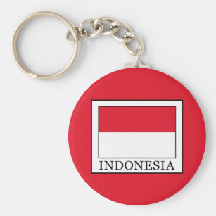 Schlüsselanhänger Indonesien Flagge Fahne