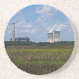 Industrie-Reihe---Nuklearer Getränkeuntersetzer