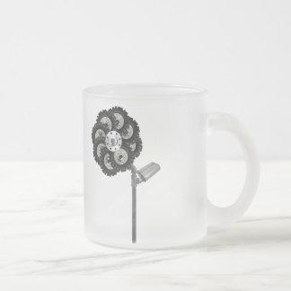 Industrielle Blume Matte Glastasse