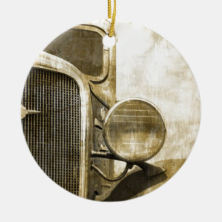Industrieller Western-Land-rostiger Keramik Ornament