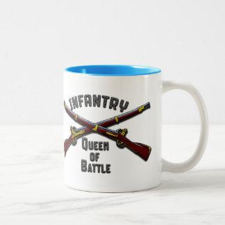 Infanterie - Königin des Kampfes - Trinkbehälter Zweifarbige Tasse