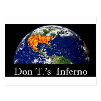 Inferno Dons t. Postkarte