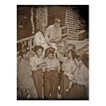 Infirmières dans le courrier de obtention Pacifiqu