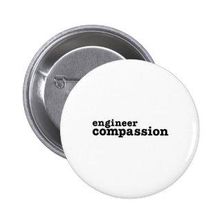 Ingenieur-Mitleid Runder Button 5,7 Cm