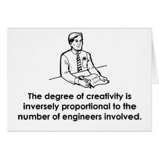 Ingenieure u. Kreativität Karte