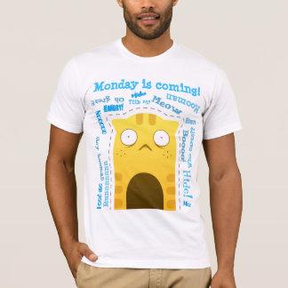 Ingwer-Katzen-grundlegender T - Shirt