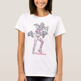 Ingwer-Manie-Zeichnen T-Shirt