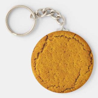 Ingwer-Nuss-Keks-Schlüsselring Schlüsselanhänger