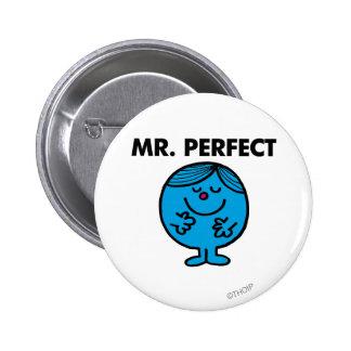 Inhalt Herr-Perfect | ruhig Runder Button 5,7 Cm