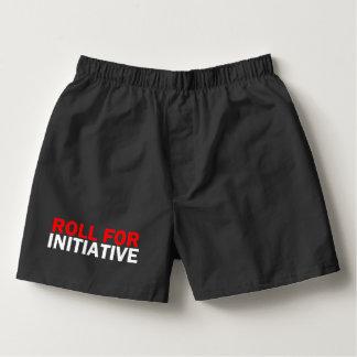 Initiative des Rollen 4 Herren-Boxershorts