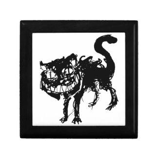 Ink cat schmuckschachtel