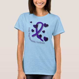 Inländisches Gewalt-Bewusstsein T-Shirt