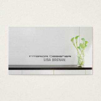 Innenarchitekt-Licht-Raum-Art Visitenkarte