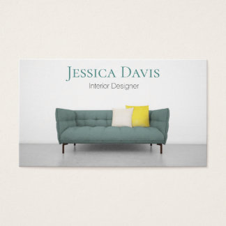 Innenarchitekt-Möbel-Visitenkarte Visitenkarte