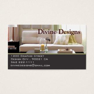 Innenarchitektur - besonders angefertigt visitenkarte