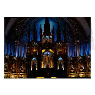 Innenraum Notre Damedes Montreal Karte