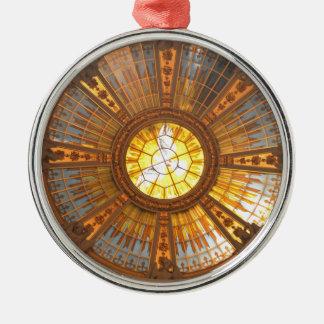 Innere Berlin-Kathedrale (Bewohner von BerlinDom) Rundes Silberfarbenes Ornament