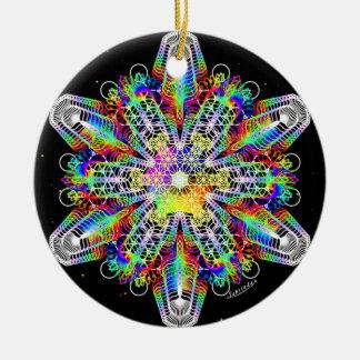 Innere Stärke/tief Frieden 2 Keramik Ornament