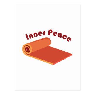 Innerer Frieden Postkarte
