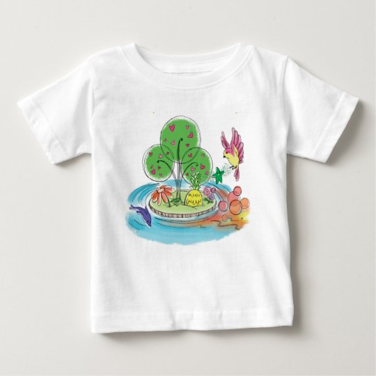 Innisphere Insel-Baby-T - Shirt