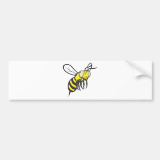 Insecte de vol mignon d'abeille autocollant de voiture