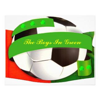 Insecte irlandais du football prospectus