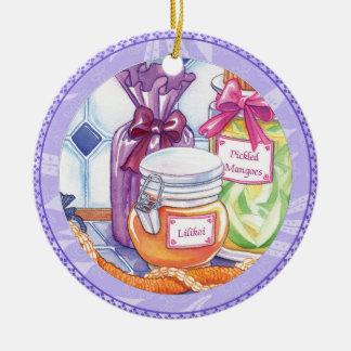 Insel-Café - Lilikoi und in Essig eingelegte Keramik Ornament