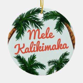 Insel-Gruß Keramik Ornament